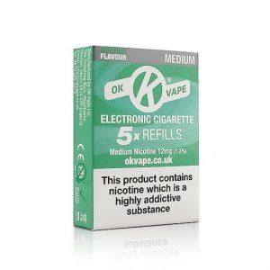 Menthol Medium Refills