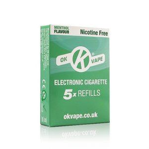 Menthol Nic. Free Refills